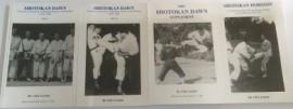 SHOTOKAN DAWN SET OF 4 BOOKS + Scotland's First Karate Club